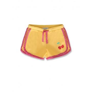 144851 Code create small girls short golden cream+canteloupe (12 pcs)