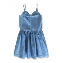 144863 Code create small girls denim dress light blue (10 pcs)