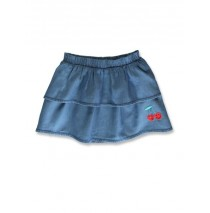 144864 Code create small girls denim skirt light blue (10 pcs)