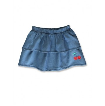 144864 Code create small girls denim skirt light blue (10 pcs)