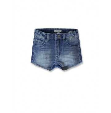 144869 Empower up small girls denim short blue blue (10 pcs)