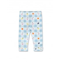 144908 Code create baby girls legging blue bell+bachelor button (8 pcs)