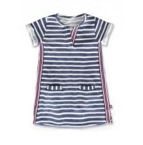 145003 Designing emotion small girls dress white blue+blue white (12 pcs)