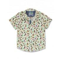 145066 Designing emotion small boys blouse light gray (10 pcs)