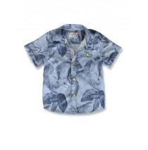 145067 Designing emotion small boys blouse blue denim (10 pcs)