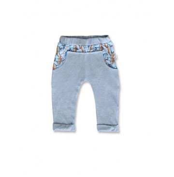 145085 Code create baby boys legging light blue+light grey melange (8 pcs)