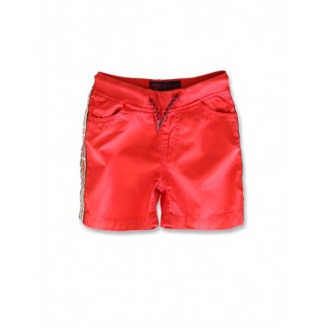 145126 Code create small boys bermuda ribbon red (10 pcs)
