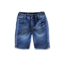 145309 Designing emotion small boys Jog denim bermuda blue (10 pcs)