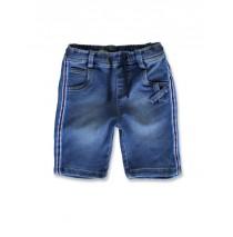 145309 Designing emotion small boys Jog denim bermuda blue (10 pcs)