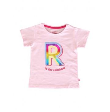 145407 Code create small girls shirt orchid pink+canteloupe (12 pcs)