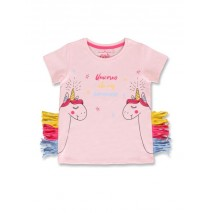 145412 Code create small girls shirt orchid pink+optical white (12 pcs)