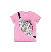145468 Empower up small girls shirt fushia pink+limelight (12 pcs)