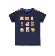 145625 Code create small boys shirt navy blazer+grey melange  (12 pcs)