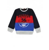 145629 Code create small boys sweatshirt navy blazer+grey melange (12 pcs)