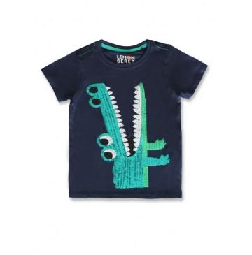 145661 Empower up small boys shirt navy blazer+tangerine tango (12 pcs)