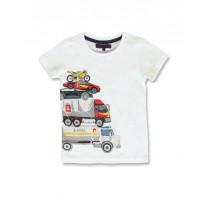 145727 Code create small boys shirt optical white+navy blazer  (12 pcs)
