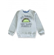 145752 Designing emotion small boys sweatshirt grey melange+navy blazer (12 pcs)