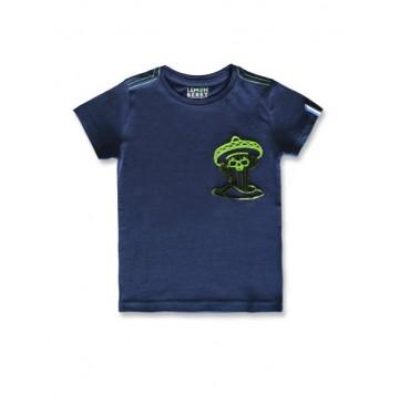 145758 Designing emotion small boys shirt navy blazer+burnt olive (12 pcs)