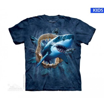 Shark Attack Child T Shirt (3 pcs)