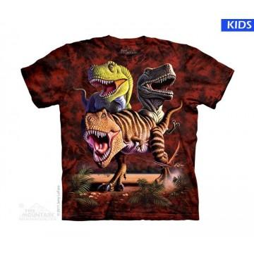 Rex Collage Child T Shirt (4 pcs)