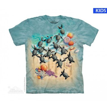 Green Turtle Hatch Child T Shirt (3 pcs)