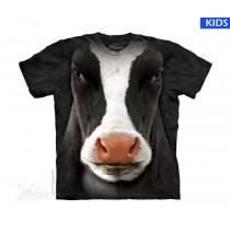 Black Cow Face Child T Shirt (3 pcs)