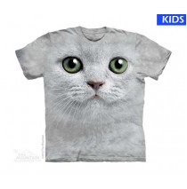 Green Eyes Face Child T Shirt (4 pcs)