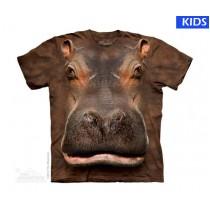 Hippo Head Child T Shirt (4 pcs)