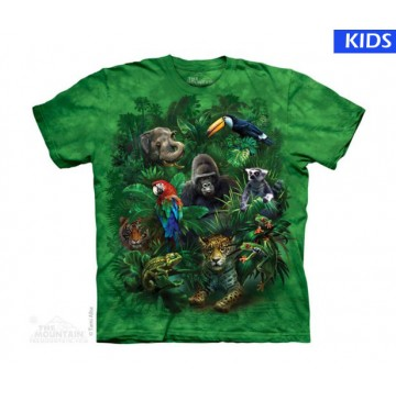 Jungle Friends Child T Shirt (4 pcs)