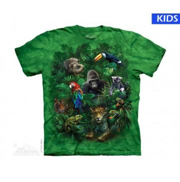 Jungle Friends Child T Shirt (4 pcs)