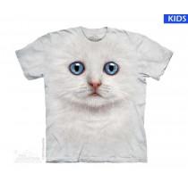 Ivory Kitten Face Child T Shirt (3 pcs)