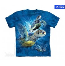 Find 9 Sea Turtles Child T Shirt (4 pcs)
