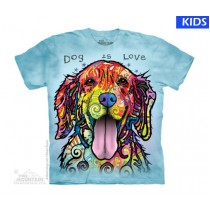 Dog Is Love Child T Shirt (4 pcs)