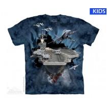Aircraft Carrier Break Child T Shirt (4 pcs)