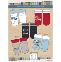 Baby Socks giftbox baby Rules (8 pair)