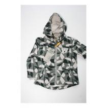 Small boys cardigan sweater asphalt (4 pcs)