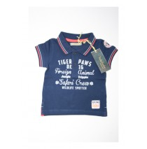 132998 Baby boys polo combo 2 medieval blue (4 pcs)