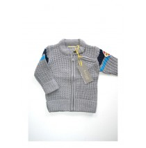Rapture cardigan grey melange (4 pcs)