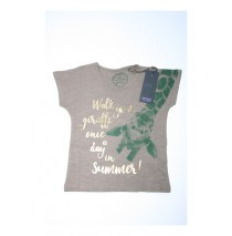 131583 Encounter small girls shirt combo 2 taupe (6 pcs)