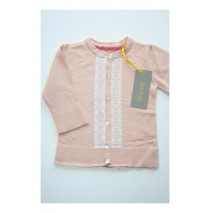 Quietude cardigan light pink melange (4 pcs)
