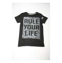 133213 Digital wave teen boys shirt Combo 2 black (6 pcs)