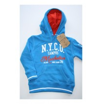 Rapture hooded sweatshirt brilliant blue (4 pcs)