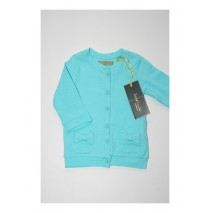 130405 Riviera baby girls cardigan sweat Combo 3 blue radiance (4 pcs)