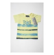 Deals - Digital Wave baby boys shirt combo 2 pale lime yellow (4 pcs)