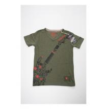 133233 Edgelands teen boys shirt Combo 2 kaki melange (6 pcs)