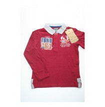 Deals - Allegory poloshirt wine red 140 (2 pcs)