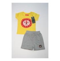 Baby boys set shirt+short combo 3 buttercup (4 pcs)