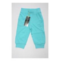 Baby girls jogging pant combo 2  blue radiance (4 pcs)