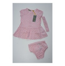 Baby girls set dress+bloomer+hairturban combo 2 fairy tale (4 pcs)
