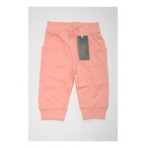 Baby girls jogging pant combo 3 peach (4 pcs)